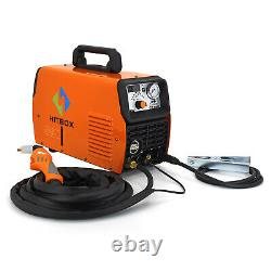 HITBOX 3in1 50A Air Plasma Cutter 200A MMA ARC Stick TIG Welding Machine CT520