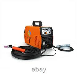 HITBOX 50A Air Plasma Cutter 210A TIG Welder MMA ARC Welding Machine PT31 Gloves