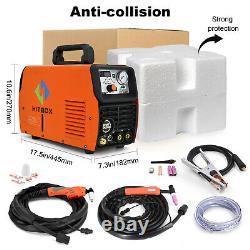HITBOX Cut/TIG/MMA 3in1 Welding Machine 50A Air Plasma Cutter 200A ARC Welder