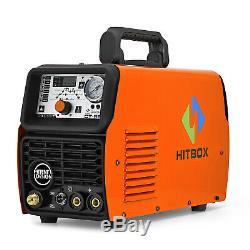 HITBOX Plasma Cutter CT520 50A /200A Tig Arc MMA Welder 220V Welding Machine
