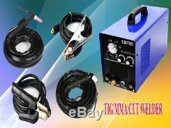 HIWAY 520TSC memade Plasma Cutter Welder Combo Welding Machine Tig/MMA/CUT 2018