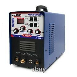 IGBT INVERTER AC/DC TIG/MMA Aluminum Welder TSE200G NEW generation OF WSME-200