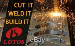 LOTOS CT520D Plasma Cutter Tig Stick Welder 3-in-1 Combo Welding Machine 200 Amp