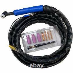LOTOS LTPDC2000D Non-Touch Pilot Arc 50A Plasma Cutter 200A Tig Welder & Stick
