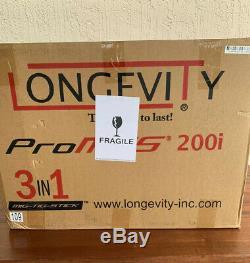 Longevity PRO-MTS 200i 3in1 MIG TIG and Stick Welder 110/220 50/60hz 1 phase