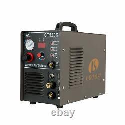 Lotos CT520D 50 AMP Air Plasma Cutter, 200 AMP Tig and Stick/MMA/ARC Welder 3