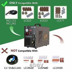Lotos CT520D 50 AMP Air Plasma Cutter, 200 Tig and Stick/MMA/ARC Welder