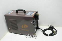 Lotos CT520D 50A Plasma Cutter 200A Tig Stick Welding Machine Dual Voltage