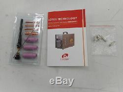 Lotos LTPDC2000D Pilot Arc Plasma Cutter Tig and Stick Welder, Cut, Brown