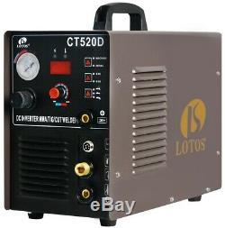 Lotos Welding Machine 110/220-Volt Durable Plasma Cutter Stick TIG Lightweight