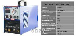 MMA/TIG/Plasma Cut Welding Machine Electric Arc Welder Tool 10-200A 220V 3 in 1