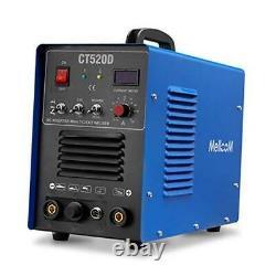 Mellcom CT520D Welding Machine 50Amp Plasma Cutter, 200Amp TIG Welder 3 in 1