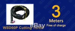 NEW 3in1 50A PLASMA CUTTER 200 AMP TIG STICK/ARC WELDER & torches & 110/220V