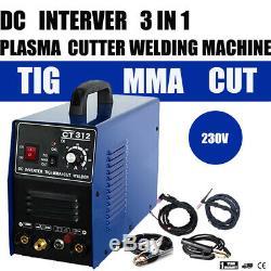 Pilot Arc 3 in 1 Multi Functional TIG / MMA / Air Plasma Cutter Welder Machine