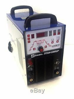 Pilot Arc 50a Plasma Cutter 200a Tig Arc Mma Welder Simadre Digital 70% Duty Arg