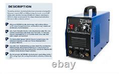 Plasma Cutter 110V/220V CT312 Pilot ARC tig/mma Welder 3in1 Welding IN USA Stock
