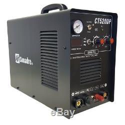 Plasma Cutter 15 Cons 50a Pilot Arc Simadre 200a Tig Mma Welder Argon Reg 520dp