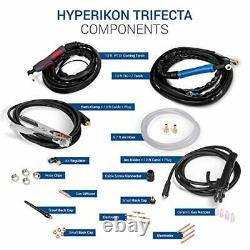 Plasma Cutter, 3 in 1 TIG Welder, IGBT Inverter, 120V 240V Dual Voltage