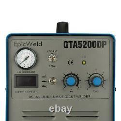 Plasma Cutter 50 Amp Tig Welder 200 AMP Foot Pedal Included ###3 YEAR WARRANTY