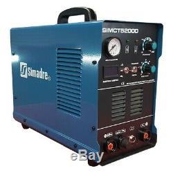 Plasma Cutter 50a 25 Cons Simadre 110/220v 5200d 200a Tig Arc Mma Welder Torch