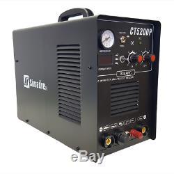 Plasma Cutter 50a Pilot Arc Simadre 3in1 200a Tig Arc Mma Welder 520dp New