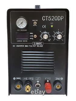 Plasma Cutter 50a Pilot Arc Simadre 520dp 200a Tig Arc Mma Welder Argon Reg