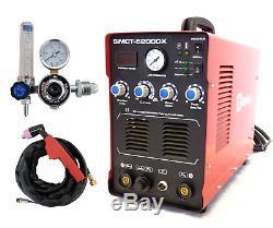 Plasma Cutter 50a Simadre 110/220v 5200dx 200a Tig Arc Mma Welder Argon Reg
