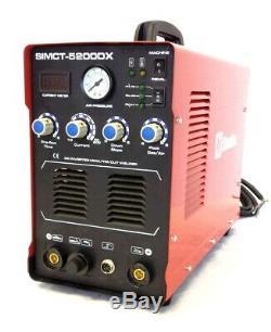 Plasma Cutter 50a Simadre 110/220v 5200dx 200a Tig Arc Mma Welder Power Torch