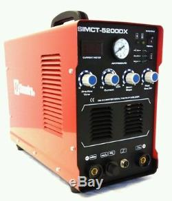 Plasma Cutter 50a Simadre 3in1 110/220v 5200dx 200a Tig Arc Mma Welder Pedal Arg