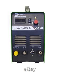 Plasma Cutter 50a Simadre Igbt 520d 110/220v 200a Tig Arc Mma Welder 60a Torch
