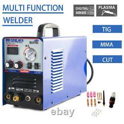 Plasma Cutter 520TSC 50 A /200 A Tig Arc Mma Welder 110/220V NEW Metal cutting