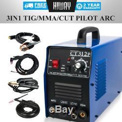 Plasma Cutter CT312P 110/220V TIG/MMA Welder Welding Machine Pilot Cut 3in1 HOT