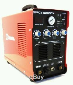 Plasma Cutter Simadre 5200DX 50 Amp / 200 Amp Tig Arc Mma Welder 110/220V