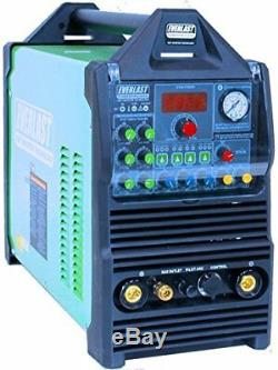 PowerPro 205S 200AMP ACDC TIG ARC PULSE WELDER 50amp plasma cutter by EVERLAST