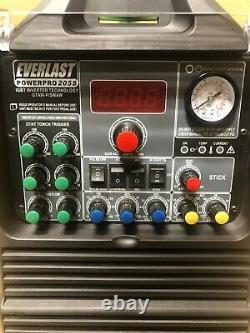 PowerPro 205S 200AMP ACDC TIG STICK PULSE WELDER 50amp plasma cutter