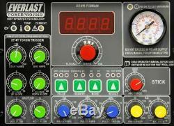 PowerPro 256S 250AMP ACDC TIG STICK PULSE WELDER 60amp plasma cutter by EVERLAST