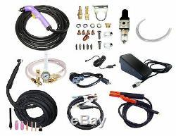 PowerUltra 206Pi 200AMP PULSE DC TIG STICK WELDER 50amp plasma cutter