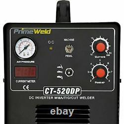 PrimeWeld Pilot Arc 50A Plasma Cutter, 200A TIG/Stick Welder Combo, Multipurpose