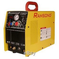 Ramsond 3-in-1 Multi-Function Digital Inverter Plasma Cutter with TIG Welder