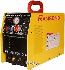 Ramsond CT 520DY 3-in-1 Multifunction Digital Inverter Plasma Cutter TIG Welder