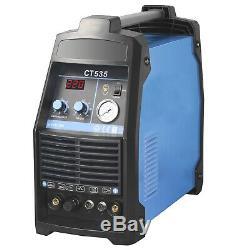 Schweißgerät CT535 DC WIG 200 HF TIG + Plasma CUTTER 50 MMA E-Hand 3 in 1 Vector