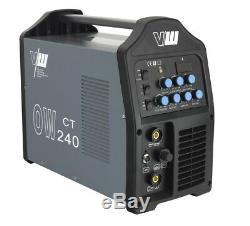 Schweißgerät WIG DC 200 Puls HF TIG Plasma Cutter MMA E-Hand 4 in 1 Vector OW240