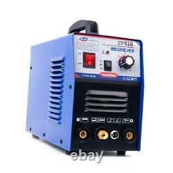 TIG/MMA Air Plasma Cutter CT418 3 in 1 Combo Welding Machine, 120A TIG/MMA