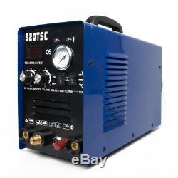 TIG/MMA/CUT Pilot ARC Welding Machine IGBT Inverter 50A Plasma Cutter 110/220V