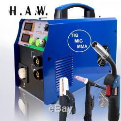 TIG/MMA/MIG Welder Machine 3IN1 Multi-Function Welding Machine 110/220V