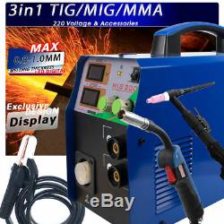 TIG/MMA/MIG Welder Nachine 3IN1 Combo Multi-Function Welding Machine 220V Hot