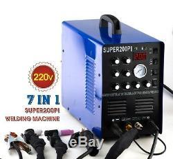 Tig Mma Arc Plasma Cutter Ac/dc Pulse Inverter Welder Aluminum 2t/4t