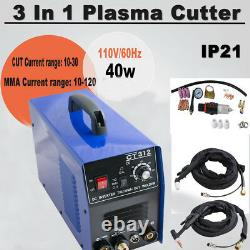 USPS 3 In 1 Air Plasma Cutter TIG MMA Welder Cutting Welding Machine CT-312 110V