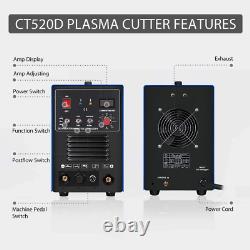 VIVOHOME 3 In 1 Multi-functional Plasma Cutter Cutting TIG STICK/MMA Welding