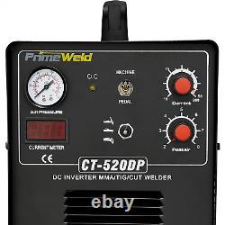 Weld Pilot Arc 50A Plasma Cutter, 200A Tig/Stick Welder Combo, Multipurpose Weld